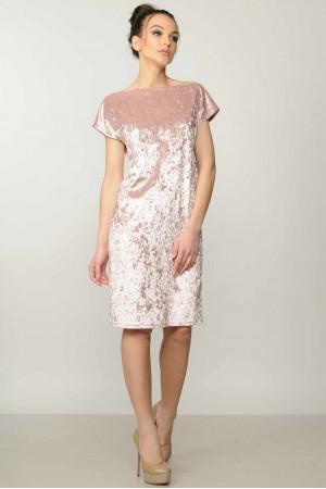 Платье «Эвелина» цвета пудры