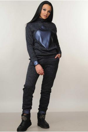 Костюм «Ромб» темно-синего цвета