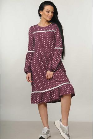 Платье «Шерил» фиолетового цвета