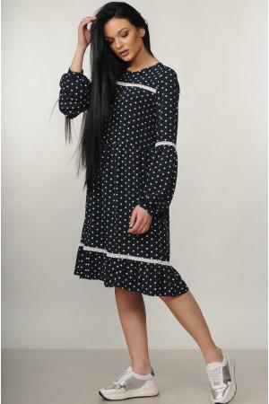 Сукня «Шеріл» темно-синього кольору