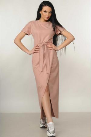 Платье «Анетти» цвета  пудры