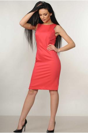 Платье «Флейми» кораллового цвета