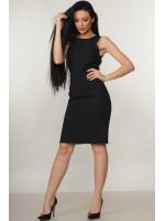 Платье «Флейми» черного цвета