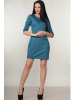 Платье «Эмили» бирюзового цвета