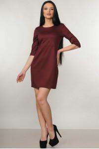 Сукня «Емілі» бордового кольору