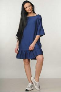 Платье «Мелани» темно-синего цвета
