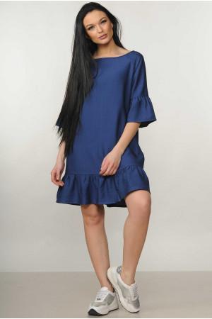 Сукня «Мелані» темно-синього кольору