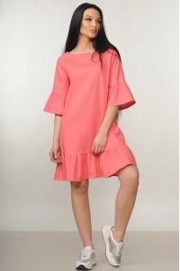 Сукня «Мелані» коралового кольору