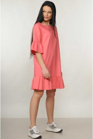 Платье «Мелани» кораллового цвета