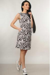 Платье «Отти» черного цвета