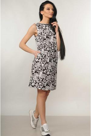 Сукня «Отті» чорного кольору