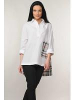 Сорочка «Беатрис» білого кольору