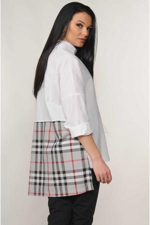 Рубашка «Беатрис» белого цвета