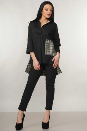 Рубашка «Беатрис» черного цвета