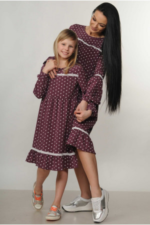 Платье «Шерил-Kids» фиолетового цвета