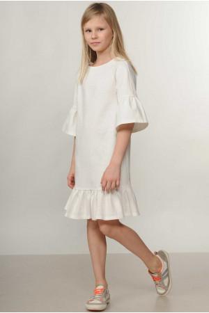 Сукня «Мелані-Kids» білого кольору