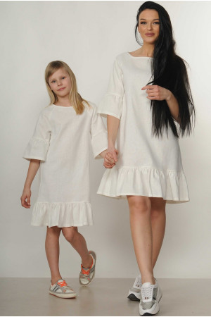 Платье «Мелани-Kids» белого цвета