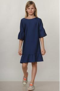 Сукня «Мелані-Kids» темно-синього кольору