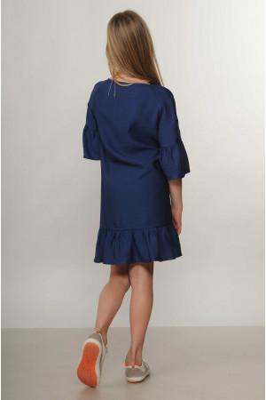 Платье «Мелани-Kids» темно-синего цвета