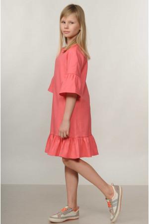 Сукня «Мелані-Kids» коралового кольору