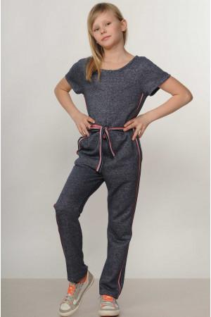 Комбинезон «Ким-Kids» цвета джинс