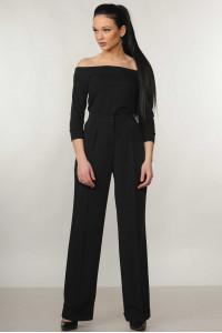 Костюм «Ешлі-Марті»: чорна блуза та брюки чорного кольору