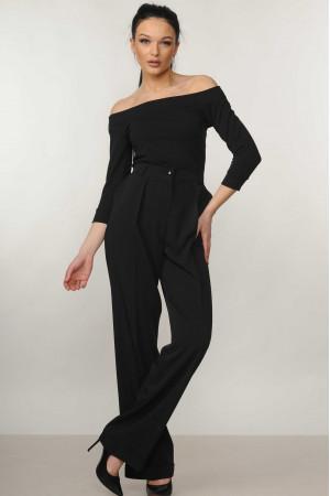 Костюм «Эшли-Марти»: черная блуза и брюки черного цвета