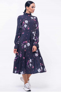 Сукня «Рут» темно-фіолетового кольору