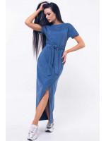 Платье «Анетти» синего цвета