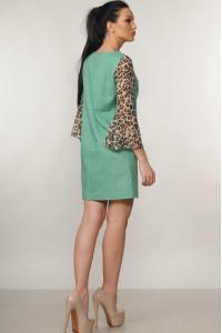 Сукня «Лео» фісташкового кольору