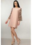 Сукня «Лео» кольору пудри
