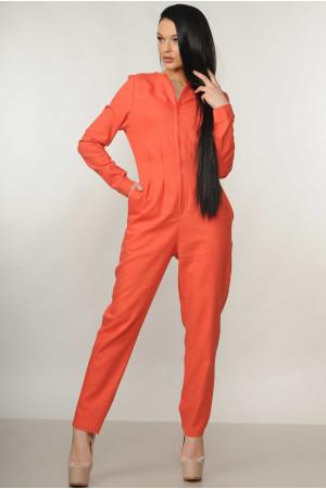 Комбінезон «Тео» помаранчевого кольору