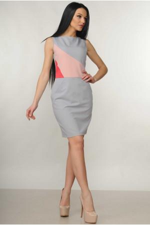 Платье «Линда» серого цвета