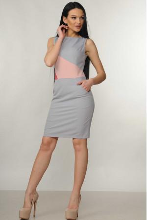 Сукня «Лінда» сірого кольору