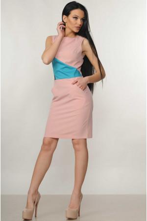 Платье «Линда» цвета пудры