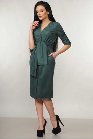 Платье «Киан» изумрудного цвета