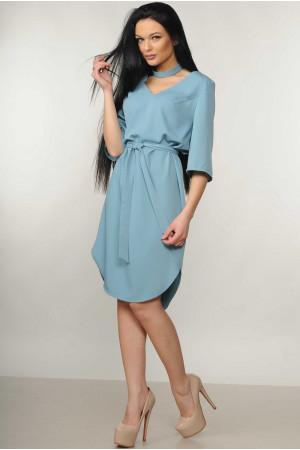 Платье «Лагуна» голубого цвета