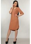 Сукня «Лагуна» карамельного кольору