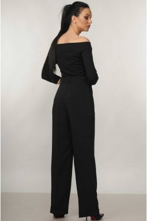 Блуза «Эшли» черного цвета