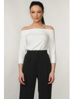 Блуза «Ешлі» білого кольору