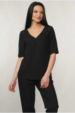 Блуза «Амбер» чорного кольору