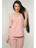Блуза «Амбер» кольору пудри