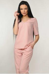 Блуза «Амбер» цвета пудры