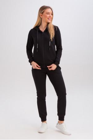 Спортивний костюм «Аура» чорного кольору