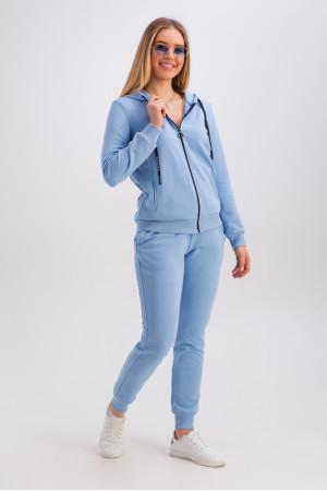 Спортивный костюм «Аура» голубого цвета