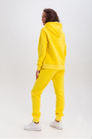Спортивний костюм «Ешлі» жовтого кольору