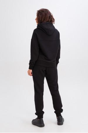 Спортивный костюм «Эшли» черного цвета