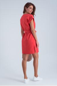 Платье «Миранда» кораллового цвета
