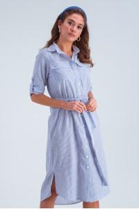 Платье «Лорин» синего цвета