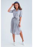 Сукня «Лорін» сірого кольору